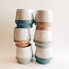 For many years, pottery has played an integral role in society, with many people collecting and making their own different variety. In some cases, ancient pottery has been sold for thousands, if no… Slab Pottery, Pottery Mugs, Ceramic Pottery, Ceramic Bowls, Ceramic Art, Porcelain Jewelry, Fine Porcelain, Painted Porcelain, Sculpture Clay