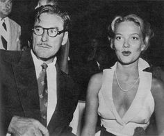 Errol Flynn & 3rd Wife Patrice Wymore. Married 1950 to Errol's death in 1959, They had one daughter, Arnella Roma 1953 to 1998.