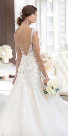 Essense Wedding Dress D1625