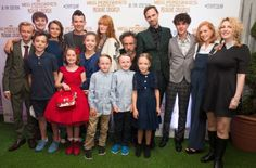 The peculiars and randsom at the London premiere