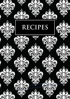 Printable Cookbook Pages - Bing images Recipe Book Covers, Recipe Cover, Recipe Book Templates, Printable Recipe, Recipe Sheets, Home Binder, Recipe Binders, Binder Covers, Recipe Cards