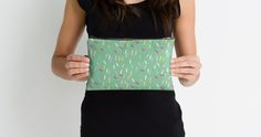 """""""Sprinkles in Teal"""" Studio Pouches by holaemily 
