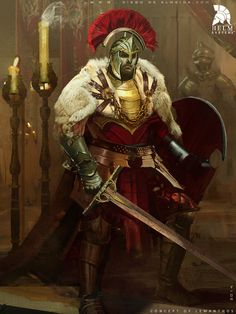 m Fighter Plate Armor Helm Shield Cloak Greatsword male Castle lg Fantasy Male, Fantasy Armor, High Fantasy, Medieval Fantasy, Fantasy Character Design, Character Concept, Character Art, Dnd Characters, Fantasy Characters