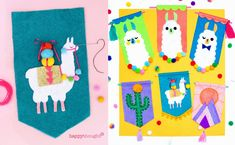 Llama Crafts: 18 fantastic DIY llama loving crafts to inspire your creativity! New Crafts, Home Crafts, Crafts For Kids, Paper Crafts, Sprinkles, Llama Pictures, Llama Plush, Paint Paint, Folk