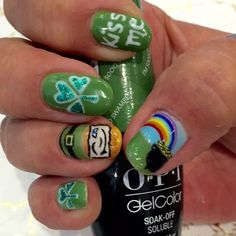 """8 Likes, 1 Comments - Blush Nail Bar & Spa (@blushnailbarandspa) on Instagram: """"Don't forget get to wear your green tomorrow! We hope everyone has a lucky St. Patty's Day.…"""""""