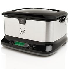 Emeril Slow Cooker -- a kitchen must have, make slow cooking Emeril's official with our 6 qt crock-pot. To view cooking recipes and products visit - http://www.emerilscooking.com/index.asp #cookingtools #kitchenutensils