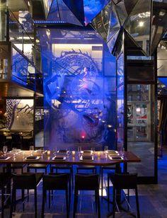 Toy Restaurants in Hotle Gansevoort, New York City designed by Jeffrey Beers International