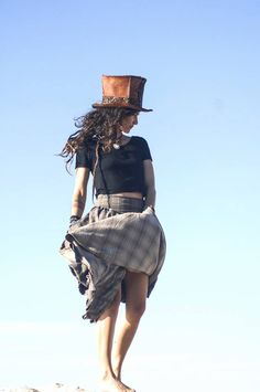 Mystic Tribe Creations by MysticTribeCreations Steampunk Top Hat, Top Hats, Headgear, Mystic, Bring It On, Ballet Skirt, Unique, Vintage, Fashion