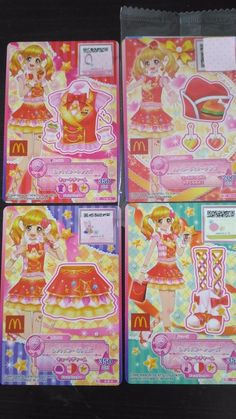 "Trading card of Japanese Animation ""AIKATSU STARS"" hot star coorde 17(PROMO)"