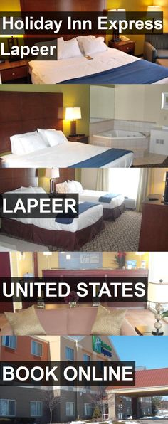 Hotel Holiday Inn Express Lapeer in Lapeer, United States. For more information, photos, reviews and best prices please follow the link. #UnitedStates #Lapeer #HolidayInnExpressLapeer #hotel #travel #vacation