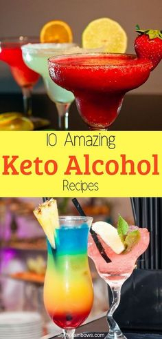 10 Amazing Keto Alcohol Recipes for Any Occasion: Enjoy The Night With These Cocktails Is drinking Alcohol called keto? The answer is Yes. Because keto diet always has below carbs, all 10 amazing keto-friendly alcohol recipes here will make you believe Mixed Drinks Alcohol, Drinks Alcohol Recipes, Water Recipes, Milkshake, Keto Cocktails, Alcoholic Drinks On Keto, Keto On A Budget, Low Carb Drinks, Low Carb Mixed Drinks