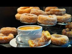 ROSQUILLAS DE NARANJA RECETA MUY FÁCIL - YouTube Biscuits, No Bake Cookies, Dessert Recipes, Desserts, Pretzel Bites, Food Preparation, Doughnut, Donuts, French Toast