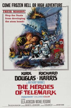 The Heroes of Telemark 11x17 Movie Poster (1966)