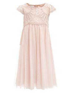 30d9691d54 Chantilly Embellished Flower Girl Dress