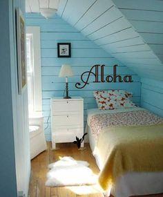 Please Live with Aloha  Hawaiian Saying Sign   wall by 3rdAveShore, $21.00