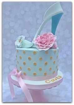 High Heel Shoe Cake by SugarLoafTreats Girly Cakes, Cute Cakes, Pink Cakes, Shoe Cupcakes, Cupcake Cakes, Gorgeous Cakes, Amazing Cakes, High Heel Cakes, Rodjendanske Torte