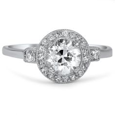 The Baylee Ring from Brilliant Earth- my birthstone would be a diamond