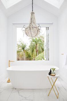 Three Birds Renovations - Bonnie's Dream Home - Master Suite Bath Area
