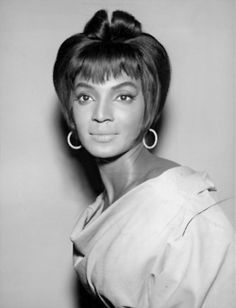 Nichelle Nichols @RealNichelle - Hair and makeup test photograph, 1966. What a doll!