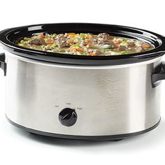 Slow Cooker Beef & Barley Soup