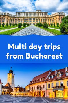 Multi day trips from Bucharest Romania Tours, Bucharest, Cool Places To Visit, Day Trips, The Good Place, Mansions, House Styles, Travel, Viajes