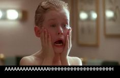 Home Alone Aftershave Quote