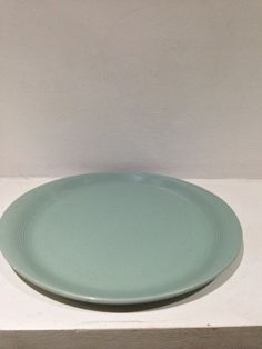 Beryl woods ware 1930s stake plate oval lipped