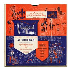Selections From The Vagabond King Al Goodman And His Orchestra RCA Victor Records/USA Illustration by Henry Stahlhut