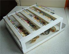 Органайзер для ниток и иголок придуманный и изготовленный мной.. f22cae8638ddfff8df (Хобби)