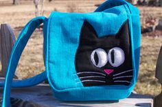 Felix in Vibrant Aqua-ness by StayingInStitches on Etsy