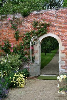 Walled garden-    Buscot Park, Faringdon, Oxfordshire