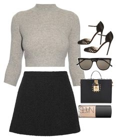 """""""Untitled #3920"""" by olivia-mr ❤ liked on Polyvore featuring Alexander McQueen, Gucci, Christian Louboutin, Yves Saint Laurent, Dolce&Gabbana and NARS Cosmetics"""