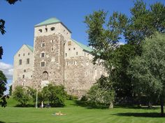 Turku  Castle, Finland Turku Finland, Finland Travel, Sweden, Scandinavian, Castle, Mansions, House Styles, Places, Medieval