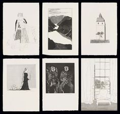 David Hockney Illustrations for Six Fairy Tales from the Brothers Grimm