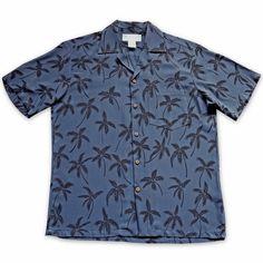 Balmy Black Hawaiian Rayon Shirt  #madeinhawaii #hawaiian
