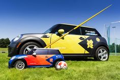 Mini Cooper R/C car for the Olympics