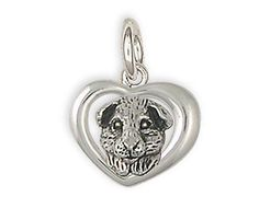 Sterling-Silver-Guinea-Pig-In-Heart-Charm-Jewelry-GP4-C1