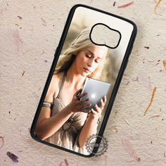 Daenerys Targaryen Playing iPad Game of Thrones - Samsung Galaxy S7 S6 S5 Note 7 Cases & Covers