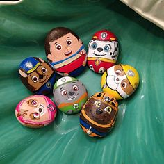 #Pawpatrol#keepsake#Ocean#oceanrock#petrock#painted#handpainted#acrylic#marshal#ryder#chase#zuma#rocky#skye#decoration#kids#followme