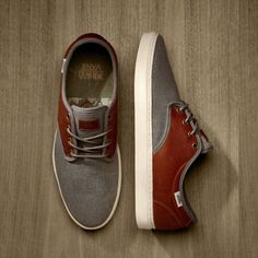 These shoes are sharp! Definitely in the running for my next pair. (Vans Military Ludlow)