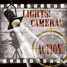 Pro Tour Memorabilia Lights Camera Action A Framed Art - - Framed Art - Wall Art & Coverings - Decor Frames On Wall, Framed Wall Art, Framed Art Prints, Fine Art Prints, Lights Camera Action, Light Camera, At Home Movie Theater, Theatre, Movie Themes