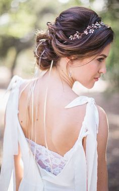 modern wedding hairstyle #10
