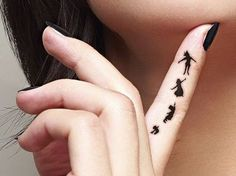 Finger Tattoos For L