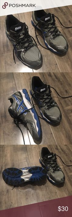 Asics Men's running shoes size 12.5 Asics men's running shoes are on sale now!  -size 12.5 -super comfortable running shoes -gently worn  -you will love these shoes for running Asics Shoes Sneakers