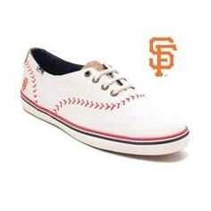 Womens Keds Champion MLB Pennant Giants™ Casual Shoe