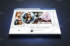 Photography Facebook Timeline Cover by Shishir Khan on @creativemarket