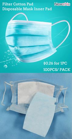 100 Pieces Disposable Mask Inner Pad Filter Cotton Pad - 100 Pieces Disposable Mask Inner Pad Filter Cotton Pad Source by anne_s_traumfab - Sewing Hacks, Sewing Crafts, Mouth Mask Fashion, Cotton Pads, Mask Design, Diy Face Mask, Face Masks, Filters, Sewing Patterns