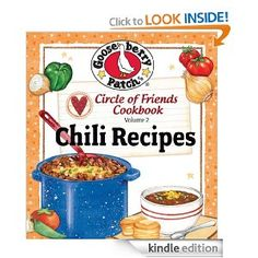 Amazon.com: Circle of Friends Cookbook 25 Chili Recipes eBook: Gooseberry Patch: Kindle Store