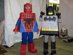 lego spiderman costume - Google Search