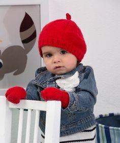 Mit dieser Mütze und den passenden Fäustlingen bleiben alle Babies kuschelig warm! Das Set ist schnell gestrickt – auch als Geschenk. Die Fäustlinge werden vorbeugend mit einer schönen Kordel...